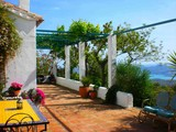 3 Bedroom Farmhouse with Large Private Pool and Lake and Sea Views in Andalucia