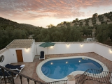 Luxury 3 bedroom, 3 bathroom farmhouse with Kidney shaped pool and jacuzzi