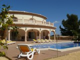 Luxury villa in Javea with private pool, airco, Wi-Fi, 7 persons