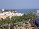 2 bedroom holiday apartment with pools, tennis courts, BBQ and sea views