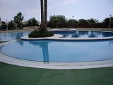 2 bedroom apartment with pools, tennis courts, BBQ and sea views