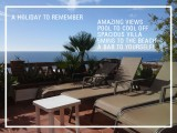 4 bedroom holiday rental villa in La Herradura, Andalucia with private HEATED pool