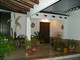 Interior patio/courtyard with its traditional Andalusian wood paneled doors